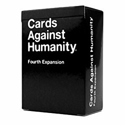 Cards Against Humanity Fourth (4th) Expansion - Great Party Game with Friends