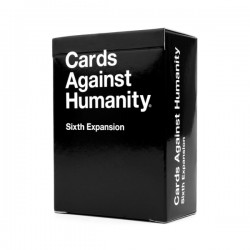 Cards Against Humanity Sixth (6th) Expansion - Great Party Game with Friends